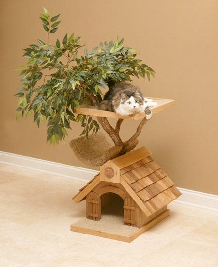 Tree House for Pets