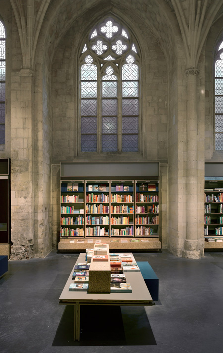 Church Converted into Bookstore