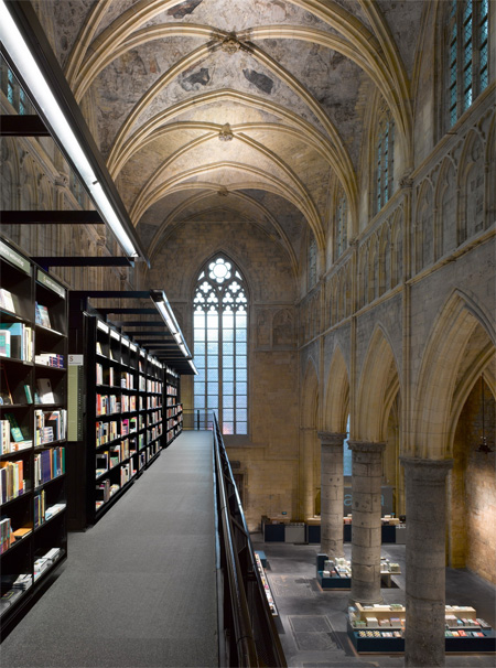 Church Turned into Bookstore