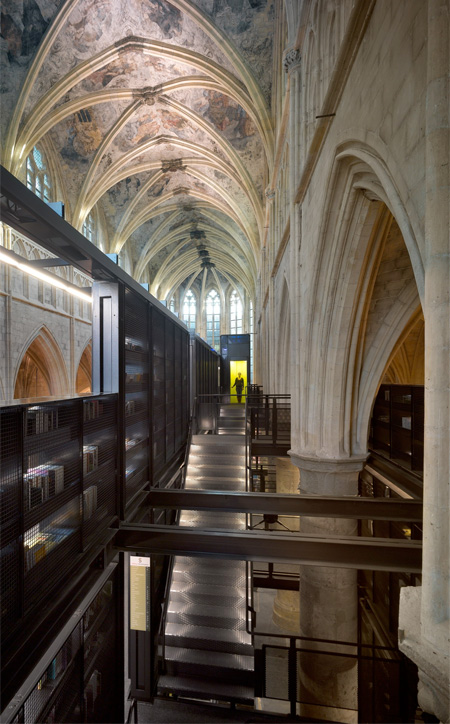 Church Transformed into Library