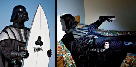 Darth Vader on Vacation