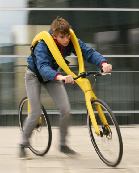 Foot Powered Bicycle