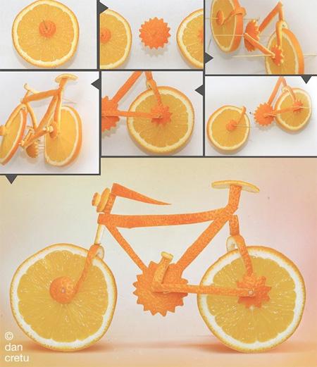 Food Sculptures by Dan Cretu
