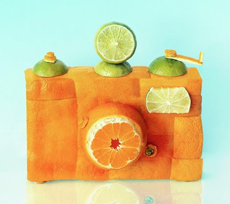 Fruit Art by Dan Cretu