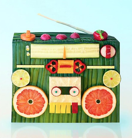 Edible Art by Dan Cretu
