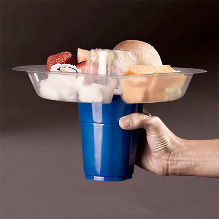 Go Plate Food and Beverage Holder