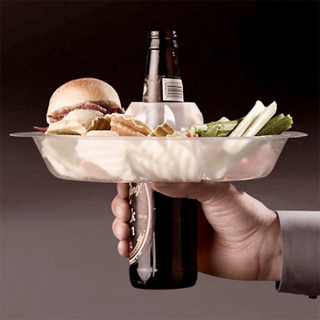 GoPlate Food and Beverage Holder