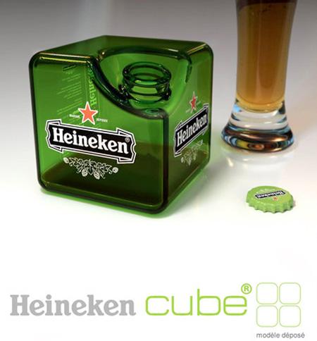 Heineken Cube Bottle Concept
