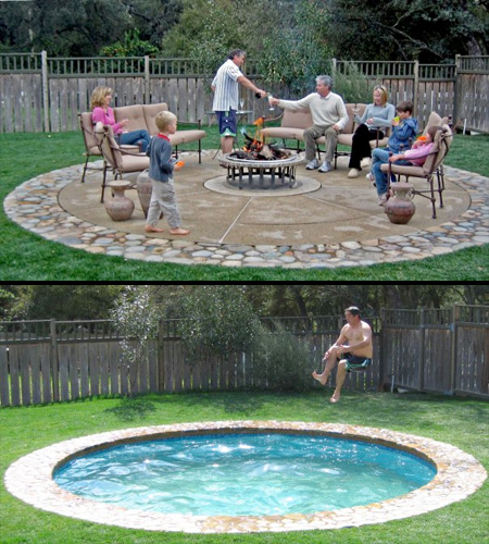 Disappearing Swimming Pools
