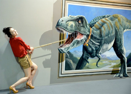 Interactive Paintings