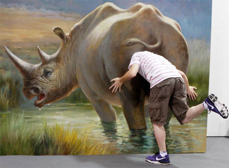 Interactive 3D Paintings