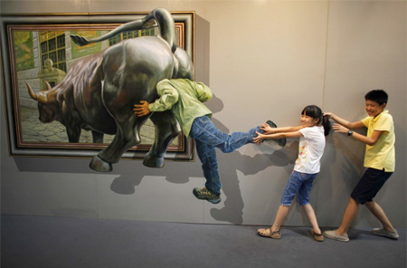 3D Art Exhibition in China
