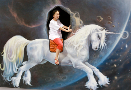 Interactive 3D Art in China