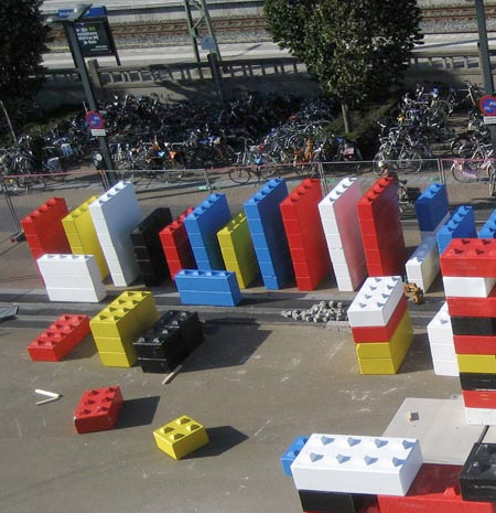 Building Made of LEGO