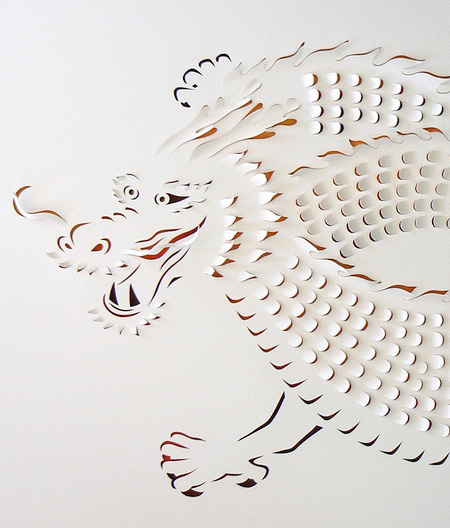 Hand Cut Paper Works