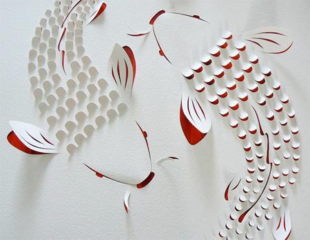 Hand Cut Paper Art by Lisa Rodden