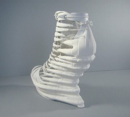 3D Printed High Heel Shoes
