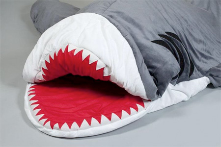 Shark Inspired Sleeping Bag