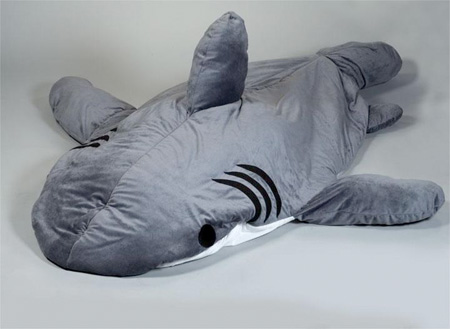 Shark Shaped Sleeping Bag