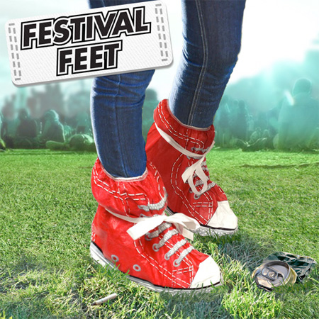 Festival Feet Shoe Covers