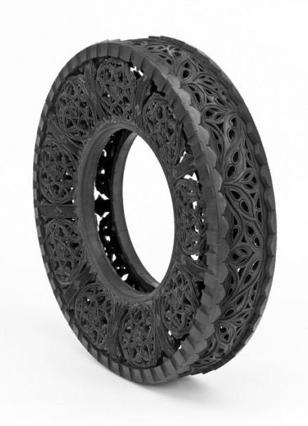 Tire Carving