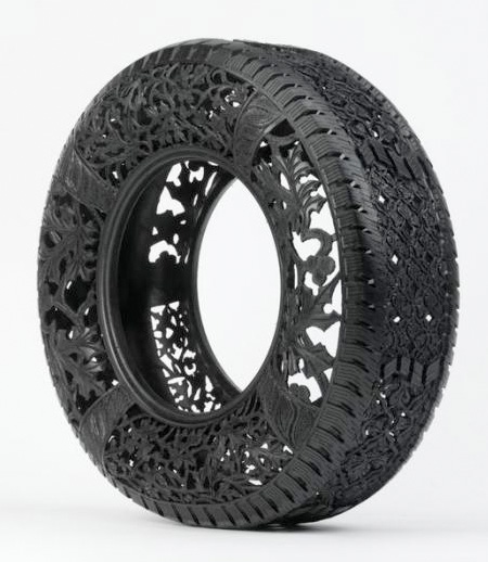 Carved Tire