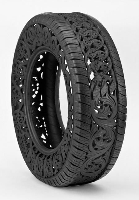 Tattooed Tire