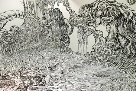 Drawing by Yosuke Goda