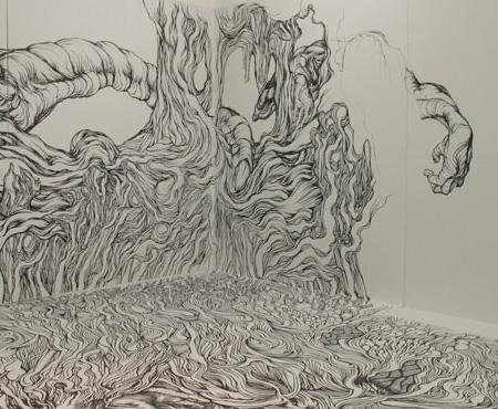 Marker Drawing by Yosuke Goda