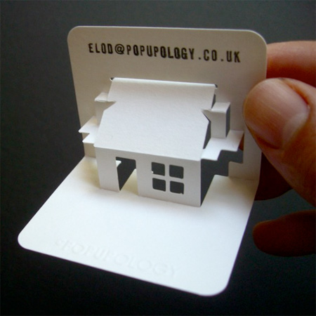 3d business cards - 3 D Business Card