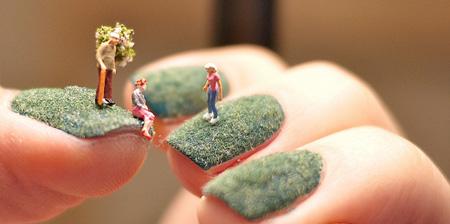 Tiny World Nail Art