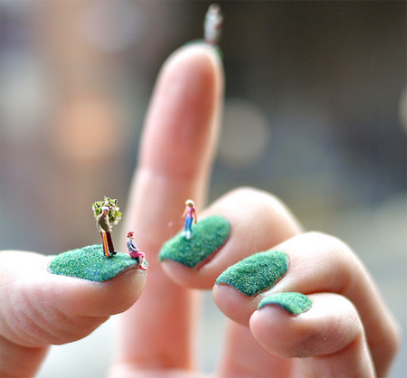Nail Art by Alice Bartlett
