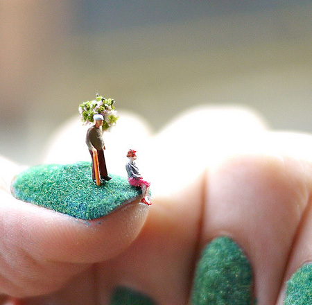 Fingernail Art by Alice Bartlett