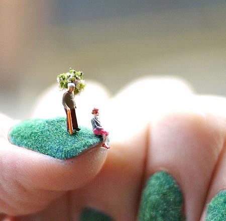Fingernail Art by Alice Bartlett