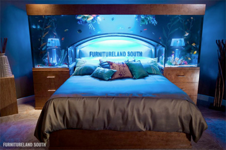 aquarium bed full image for astonishing bedroom fish tank