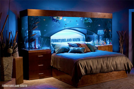 Tanked Aquarium Bed