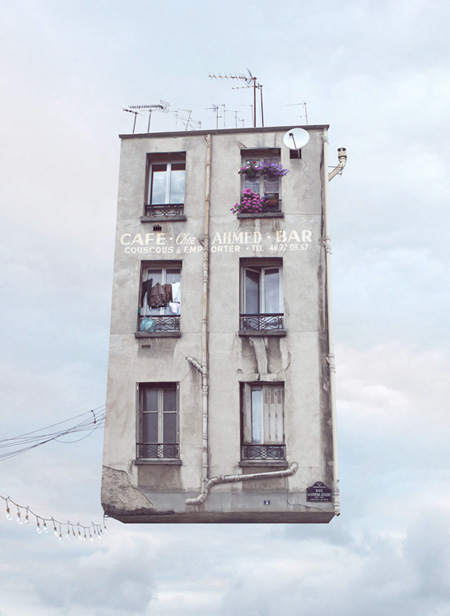 Flying Apartment Building