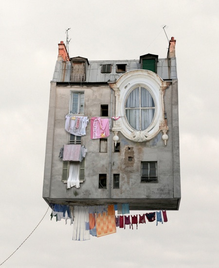 Flying House by Laurent Chehere