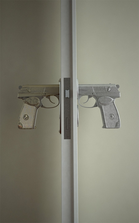 Gun Door Handle