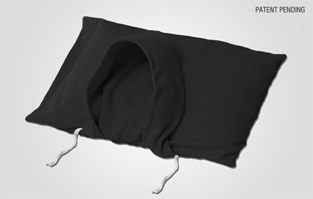 Pillow with a Hood