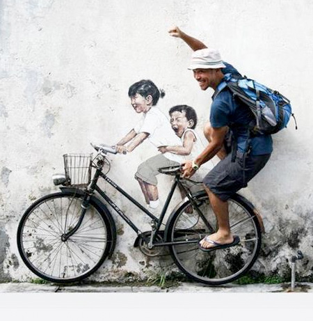 Interactive Street Painting