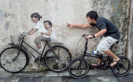Creative Street Art by Ernest Zacharevic