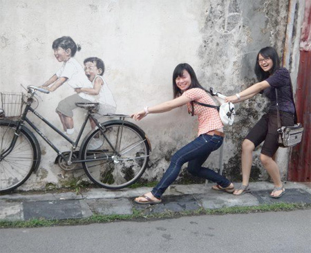 Innovative Street Art by Ernest Zacharevic