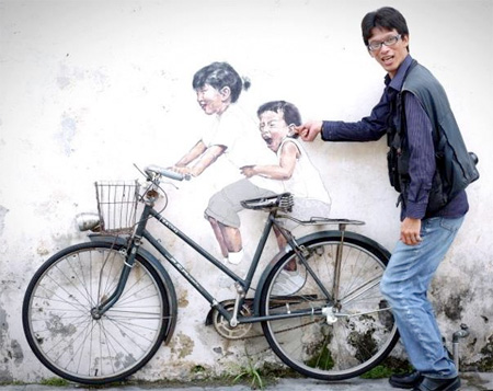 Clever Street Art by Ernest Zacharevic