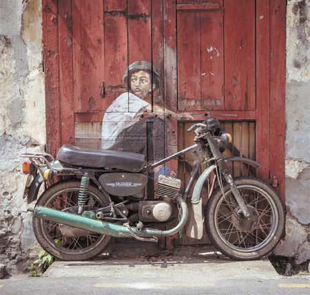 Cool Street Art by Ernest Zacharevic