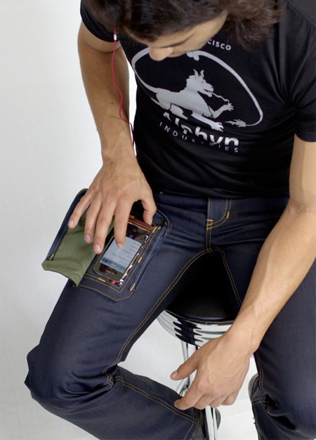 Pants for iPhone Owners