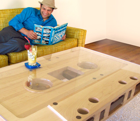 Cassette Tape Table