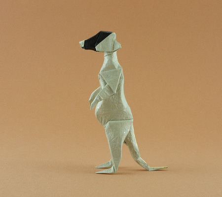 Origami Meerkat