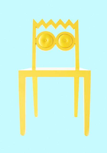 Bart Simpson Chair