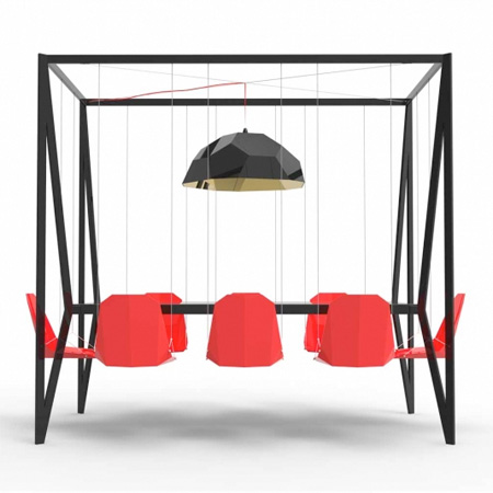 Swing Dinner Table